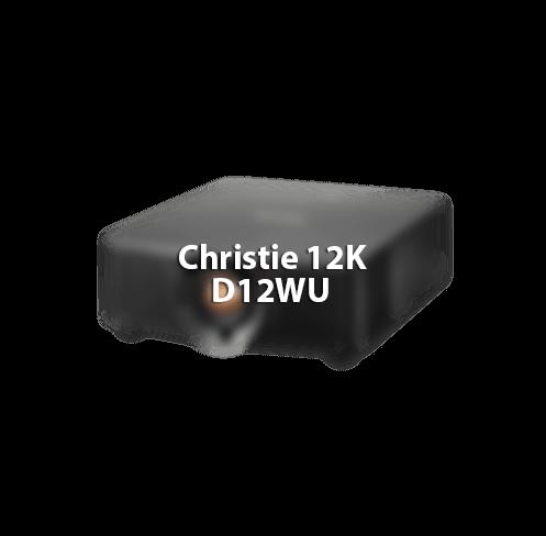 Christie D12MU 12K projector