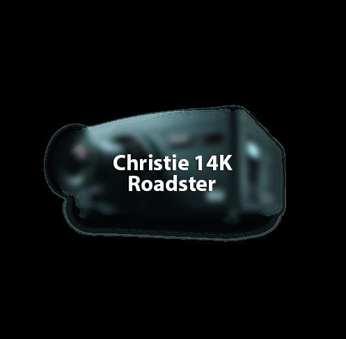 Christie Roadster 14K projector