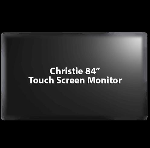"Chrisite 84"" Monitor"