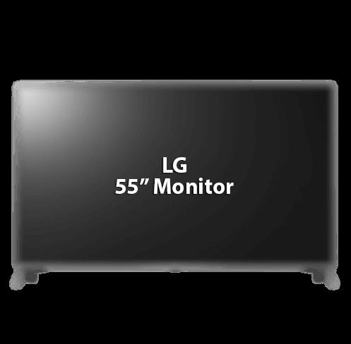 """LG 55"""" Monitor"""