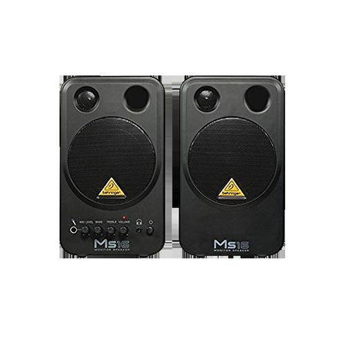 Behringer MS16 Studio Speakers