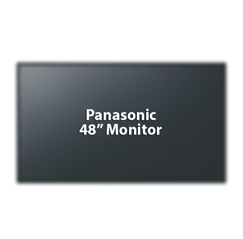 "Panasonic 48"" Monitor"