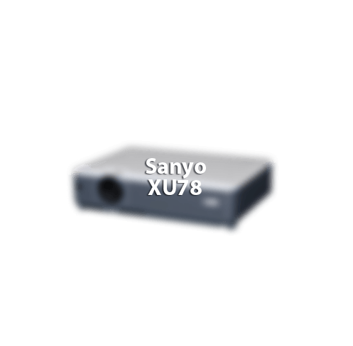 Sanyo XU78 Projector